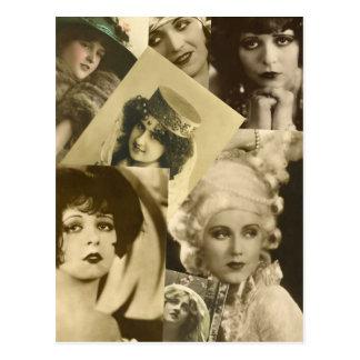 Cartão Postal Mulheres dramáticas do passado