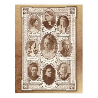 Cartão Postal Mulheres eminentes