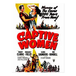 Cartão Postal Mulheres prisioneiras