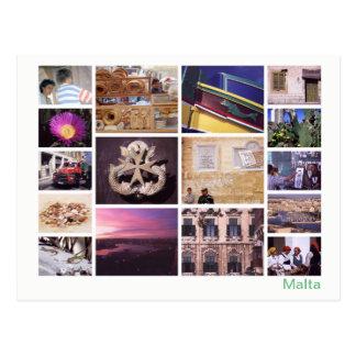 Cartão Postal Multi-imagem 2 de Malta