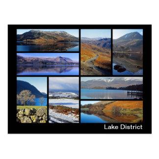 Cartão Postal Multi-imagem 3 do distrito do lago