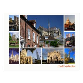 Cartão Postal Multi-imagem das catedrais