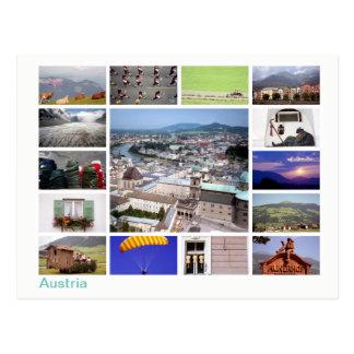 Cartão Postal Multi-imagem de Áustria