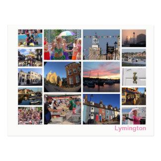 Cartão Postal Multi-imagem de Lymington