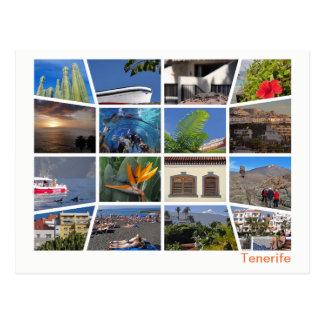 Cartão Postal Multi-imagem de Tenerife