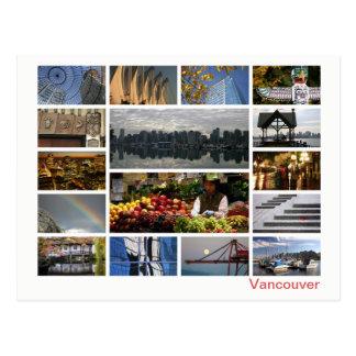 Cartão Postal Multi-imagem de Vancôver