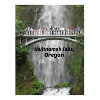 Cartão Postal Multnomah cénico cai em Oregon
