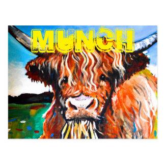 Cartão Postal Munch o Coo das montanhas