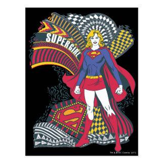 Cartão Postal Mundo aleatório 1 de Supergirl