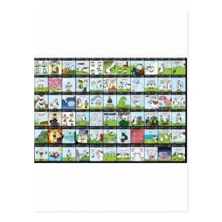 Cartão Postal Mundo do papel de parede da vaca
