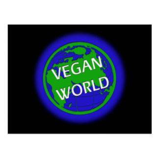 Cartão Postal Mundo do Vegan