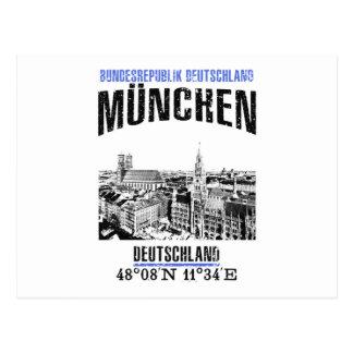 Cartão Postal Munich