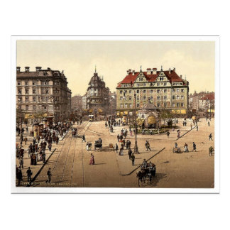 Cartão Postal Munich do Carlsthor (isto é Karlstor) para