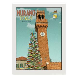 Cartão Postal Murano Camapnile