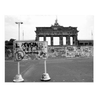 Cartão Postal Muro de Berlim