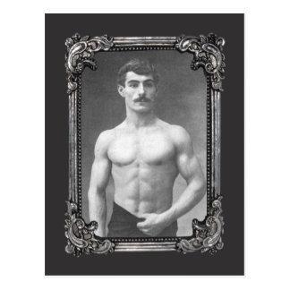 Cartão Postal Músculo parisiense do vintage