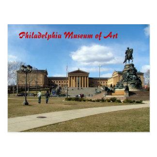 Cartão Postal Museu de arte de Philadelphfia
