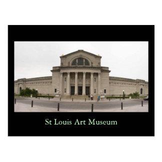 Cartão Postal Museu de arte de St Louis