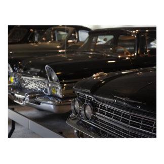 Cartão Postal Museu do motor de Latvia, Riga, Riga, carros do