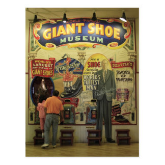 Cartão Postal Museu gigante dos calçados