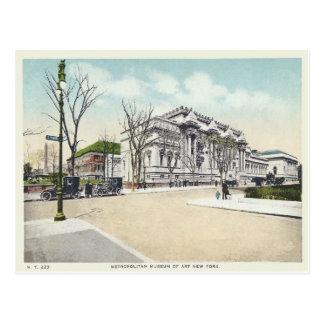 Cartão Postal Museu metropolitano do vintage, Nova Iorque, NY
