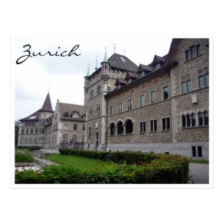 Cartão Postal Museu Nacional suíço