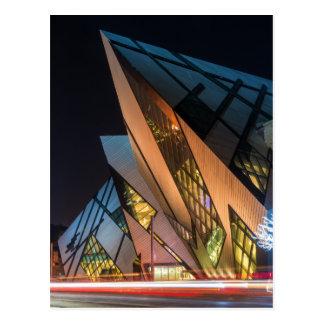 Cartão Postal Museu real de Ontário, Toronto, Canadá