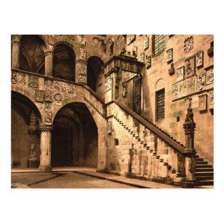 Cartão Postal Museu real (isto é museu de Bargello)