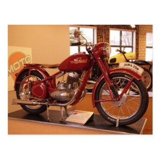 Cartão Postal Museu St Louis da motocicleta MOTO do vintage de