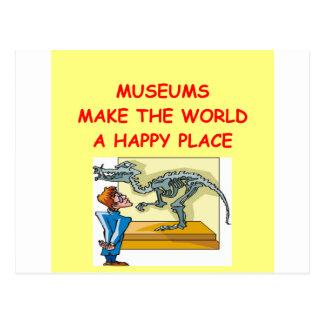 Cartão Postal museus
