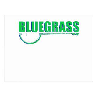 Cartão Postal Música de Bluegrass