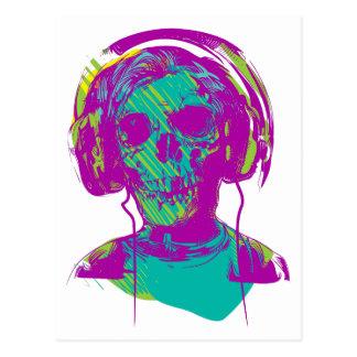 Cartão Postal Música do zombi