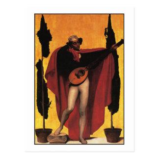 Cartão Postal Música por Frederic Leighton