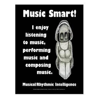 Cartão Postal Música Smart - vazio