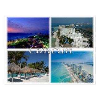Cartão Postal MX México - Cancun -