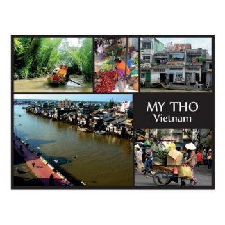 Cartão Postal My Tho - Vietnam