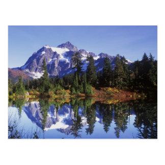 Cartão Postal N.A., EUA, Washington, padeiro do Mt. & Snoqualmie