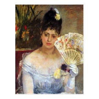 Cartão Postal Na bola por Berthe Morisot