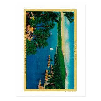 Cartão Postal Na borda da movimentação do mundo em San