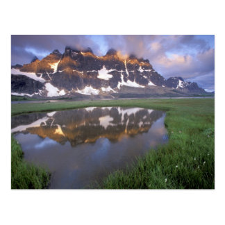 Cartão Postal NA, Canadá, Alberta, vale de Tonoquin. Jaspe