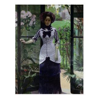 Cartão Postal Na estufa, 1881