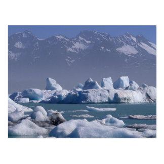 Cartão Postal NA, EUA, Alaska, St.elias Range, rio de Alsek,