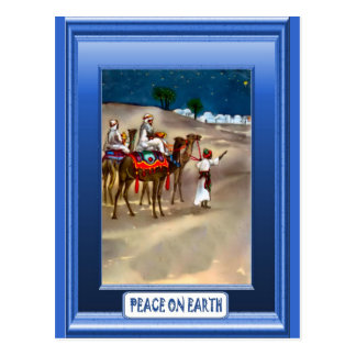 Cartão Postal Na maneira a Bethlehem