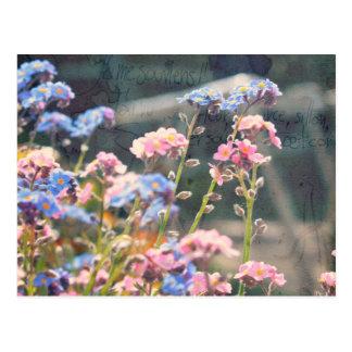 Cartão Postal Na primavera jardim