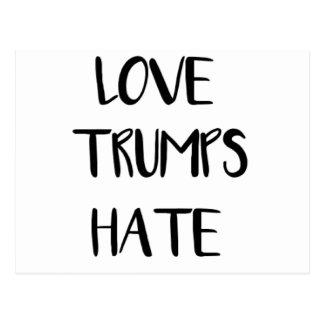 Cartão Postal Nação de inspiração do ódio dos trunfos do amor