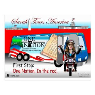 Cartão Postal Nação de Sarah uma