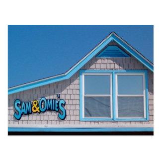 Cartão Postal Nags NC principal do restaurante de Sam e de Omie