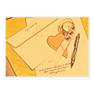 Cartão Postal Namorados