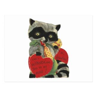 Cartão Postal Namorados do bandido do vintage