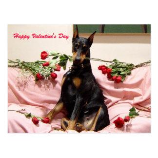 Cartão Postal Namorados Dobercard
